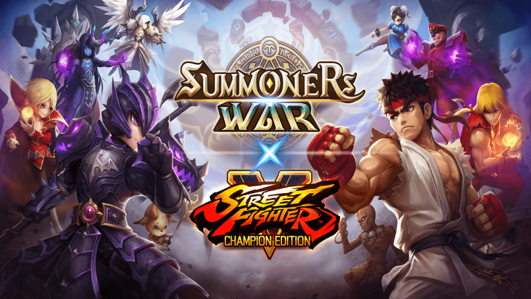 Summoners War : Sky Arena dévoile les personnages issus du crossover Street Fighter V Champion Edition