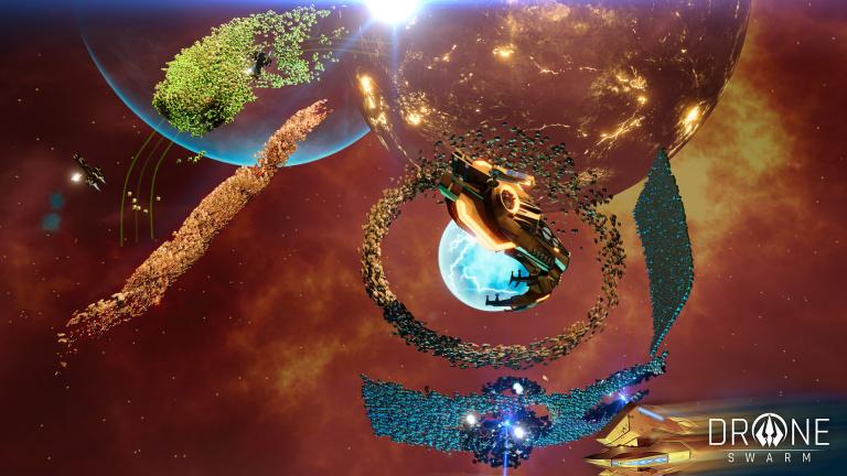 Drone Swarm : Décollage le 20 octobre pour le stratégie-aventure !