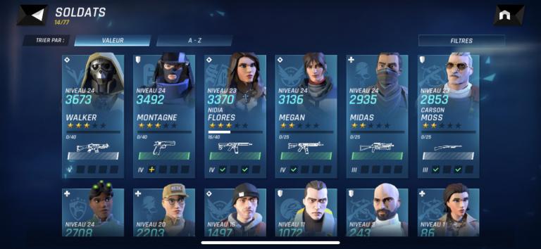 Tom Clancy's Elite Squad, guide du débutant : comment bien gérer vos ressources ? Les erreurs à ne pas faire
