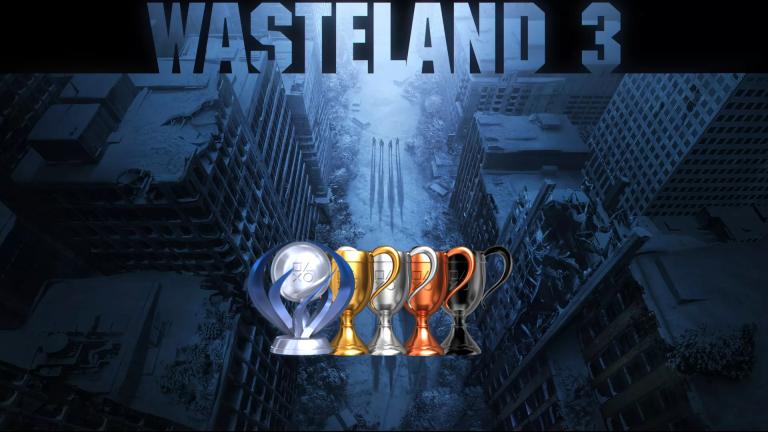 Wasteland 3 : la liste complète des trophées est disponible