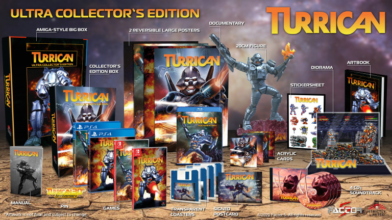 gamescom 2020 : Turrican Anthology dévoile son Ultra Collector's Edition