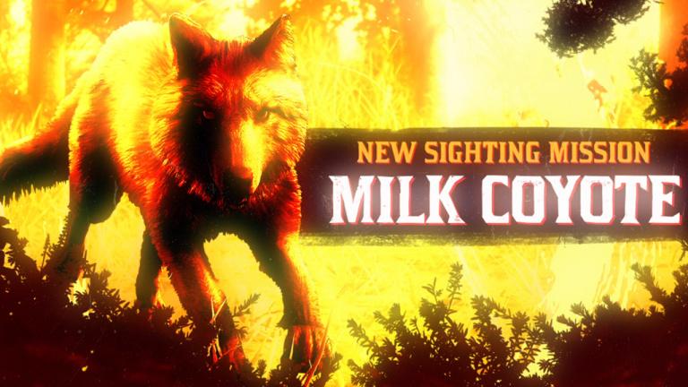 Red Dead Online - Le coyote laiteux arpente les rues de Blackwater