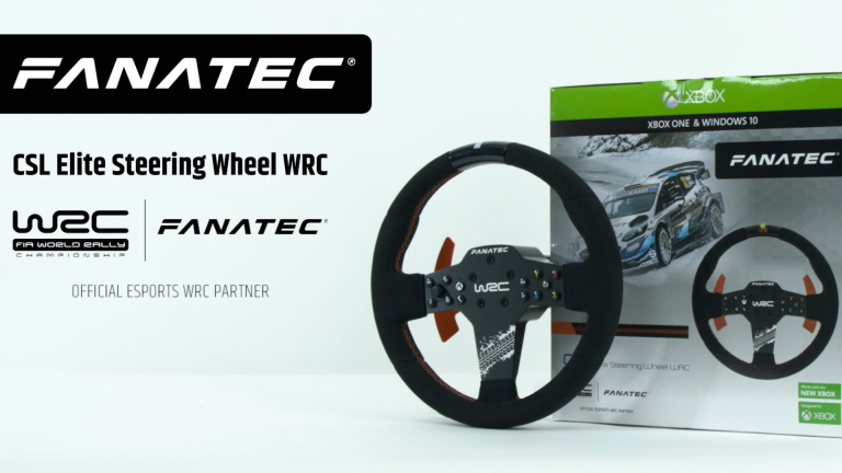 Xbox Series et Xbox One : Un nouveau volant Fanatec dédié au rallye