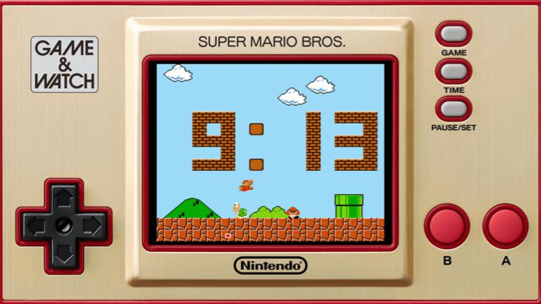 Game & Watch : Super Mario Bros - Les précommandes pour la console sont ouvertes