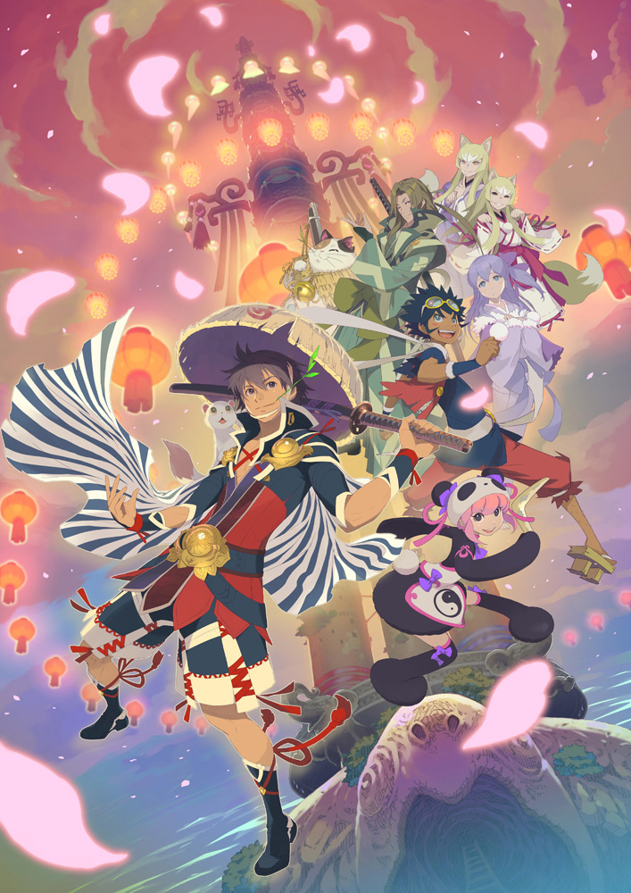 Shiren the Wanderer : The Tower of Fortune and the Dice of Fate partage un artwork