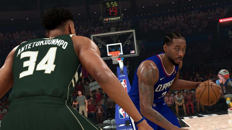 NBA 2K21 reçoit un patch pour corriger le tir