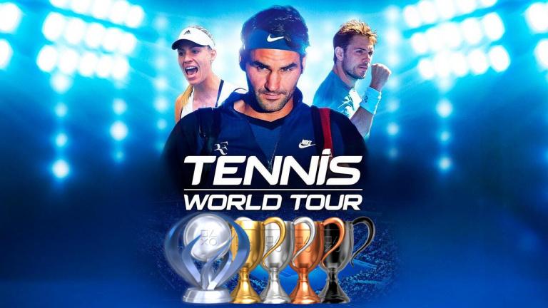 Tennis World Tour 2 : la liste des trophées est disponible