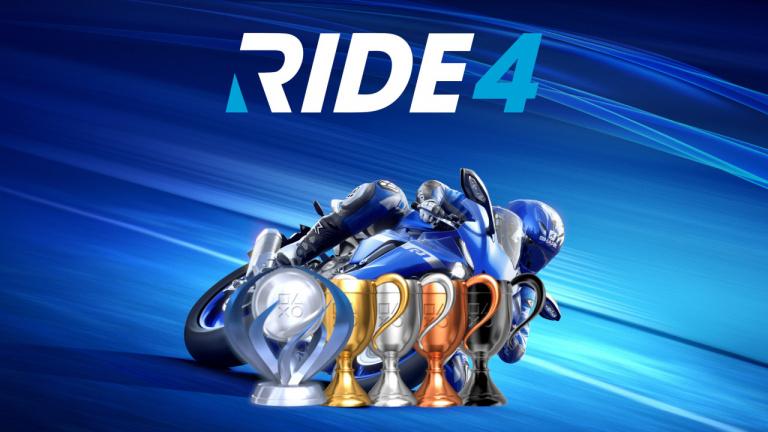 Ride 4 : la liste des trophées et succès est disponible