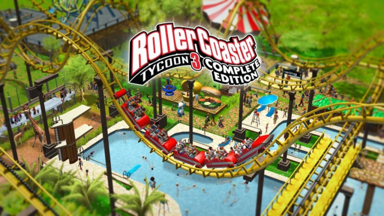 RollerCoaster Tycoon 3 Complete Edition annoncé sur PC et Nintendo Switch