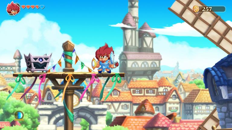 Monster Boy et le Royaume Maudit va sortir sur PS5 et Xbox Series