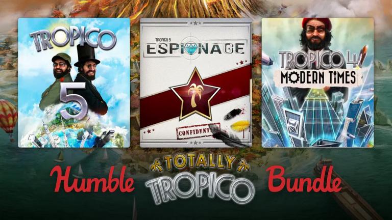 Humble Bundle propose un pack dédié à la série Tropico