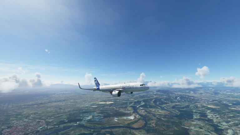 Flight Simulator, Airbus 320neo : Vol