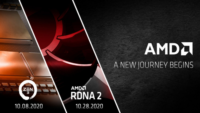 AMD va présenter les Radeon RX 6000 et Ryzen Zen 3 en octobre