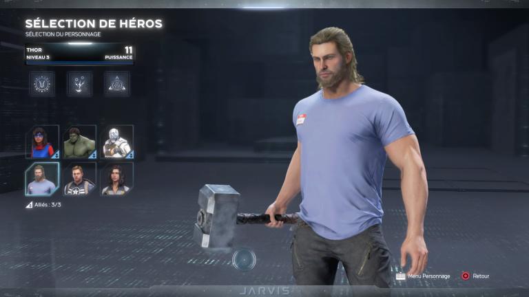 Thor, compétences, pouvoirs héroïques, astuces
