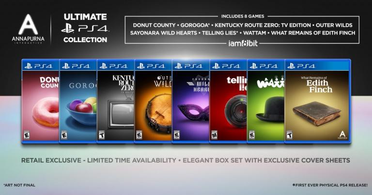 Annapurna Interactive  : Une intégrale de huit jeux sur PS4 pour célébrer son anniversaire
