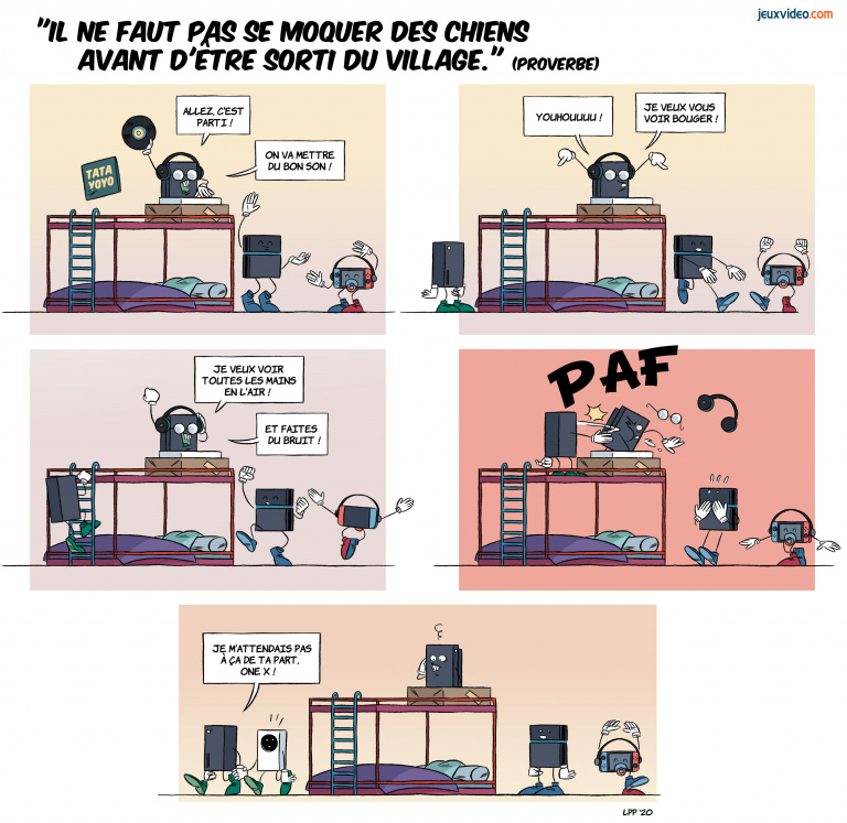LaPetitePelle dessine Jeuxvideo.com - N°350