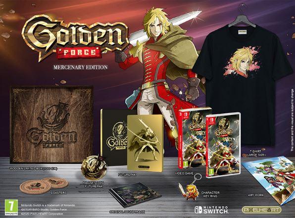 PixelHeart et Storybird Games annoncent Golden Force