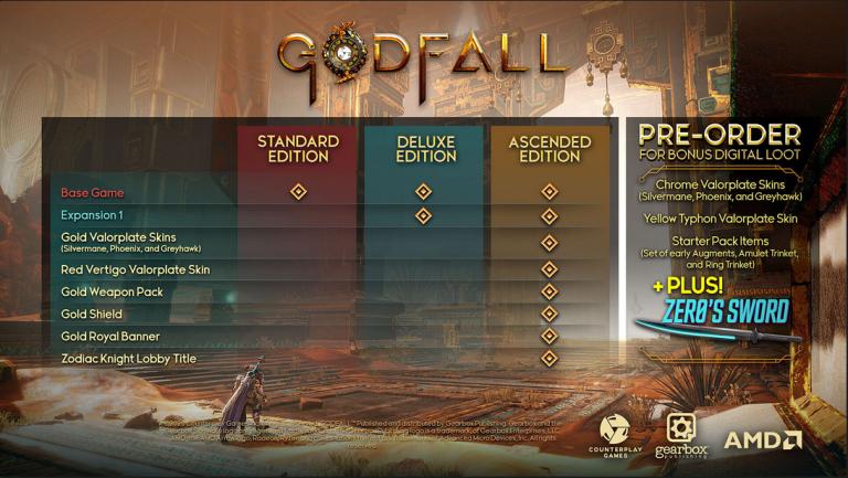 Godfall s'offre un nouveau trailer