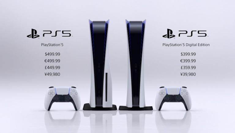 Prix des jeux PS5, une différence de prix pour l'Europe