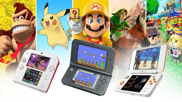 Nintendo arrête la production des consoles de la famille Nintendo 3DS