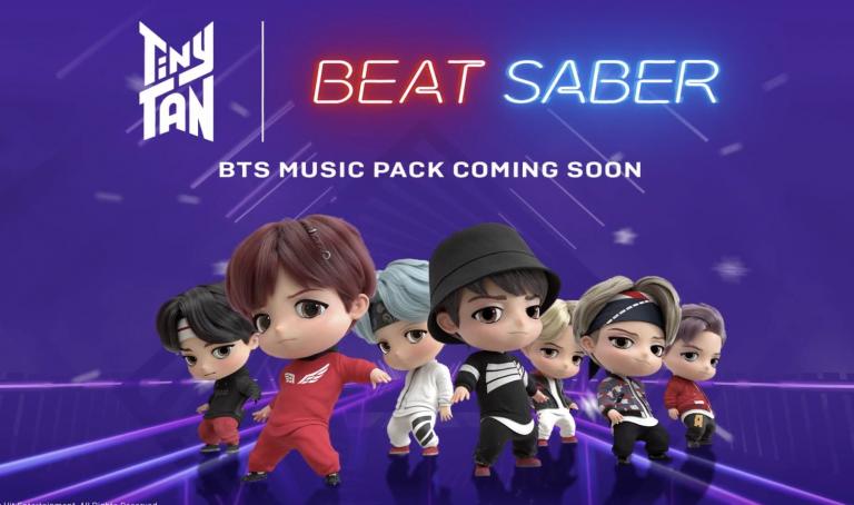 Beat Saber : Un mode multi et un pack BTS en approche