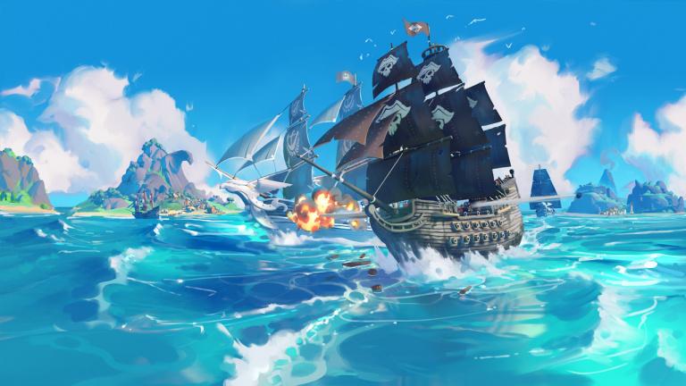 King of Seas - Le jeu de pirates s'offre un lot d'images