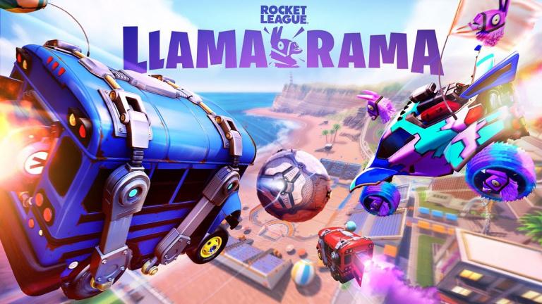 Rocket League présente son événement Llama-Rama