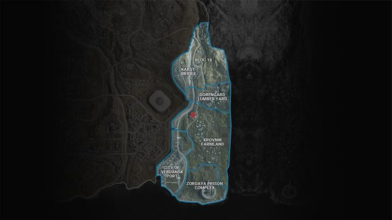 Call of Duty Warzone, saison 5, mission Nouvelle menace : trouver l'emplacement indiqué dans le message envoyé par Ghost, notre guide