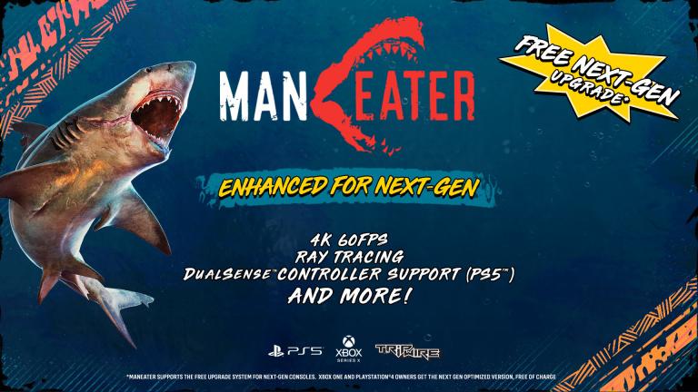 Maneater va s'offrir une version optimisée PS5 et Xbox Series (4K 60 FPS, ray tracing...)
