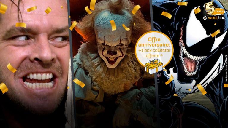 Venom, Ca, Shining et Harry Potter sont dans la Wootbox Halloween !