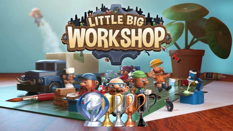 Little Big Workshop : la liste des trophées et succès est disponible