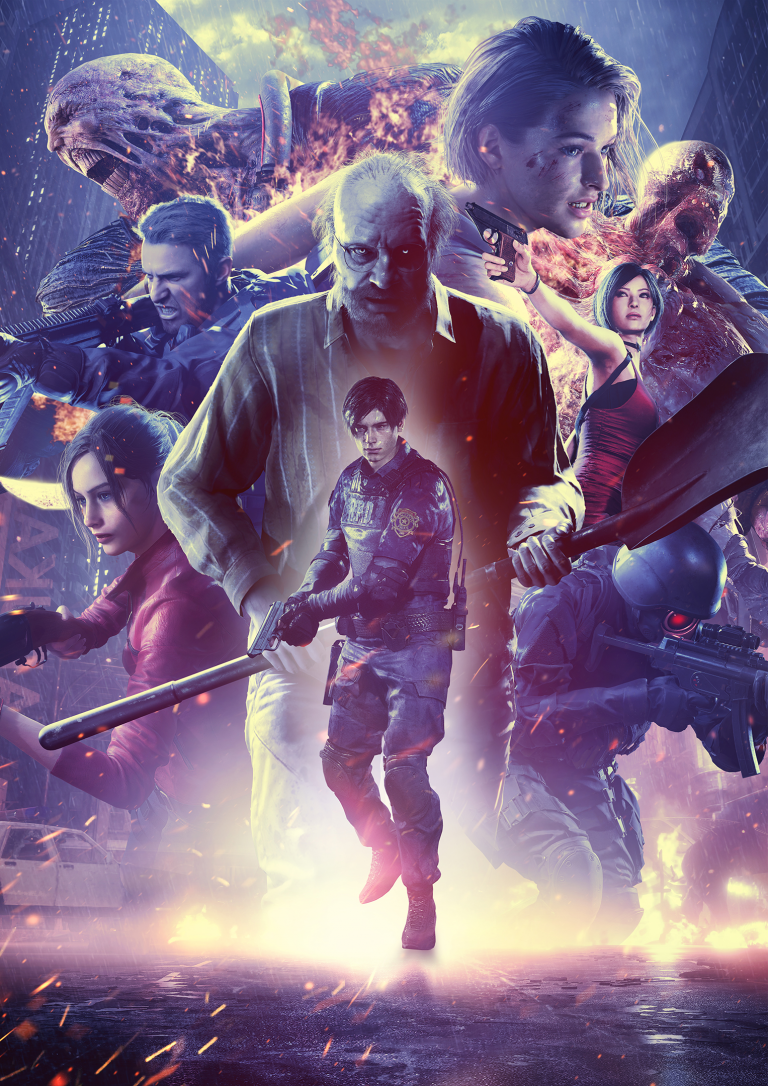 Resident Evil : Infinite Darkness - Une nouvelle série d'animation en 2021 sur Netflix