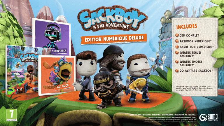 [MàJ] Sackboy : A Big Adventure - Sumo Digital dévoile les différentes éditions du jeu et le gameplay