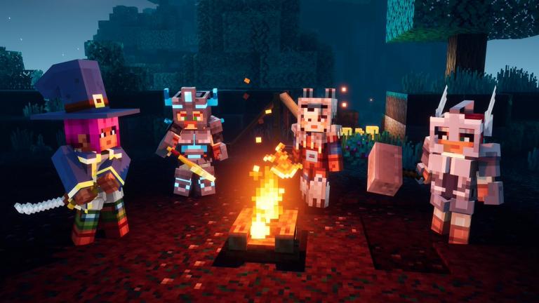 Minecraft Dungeons : Le cross-play disponible en novembre, le troisième DLC un mois plus tard