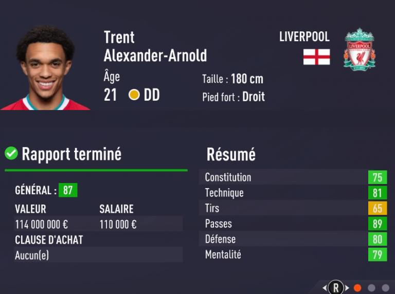 FIFA 21 : les 20 meilleurs jeunes joueurs à recruter en carrière
