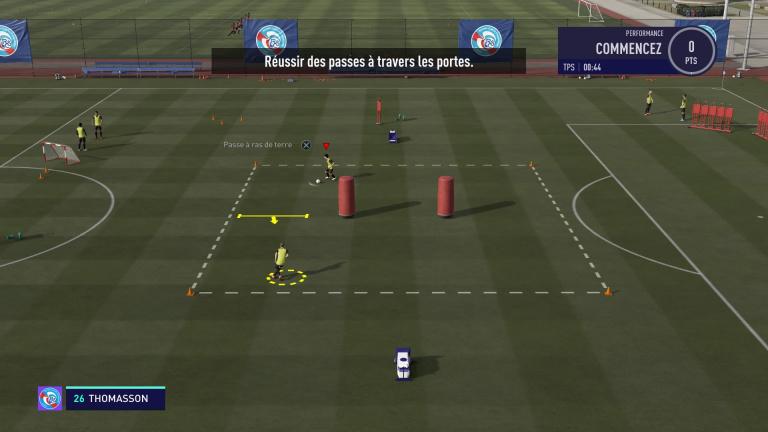 FIFA 21, jeux techniques : les passes au sol, notre guide
