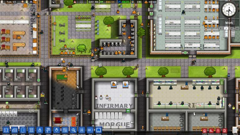Prison Architect est jouable gratuitement sur Steam jusqu'au 12 octobre
