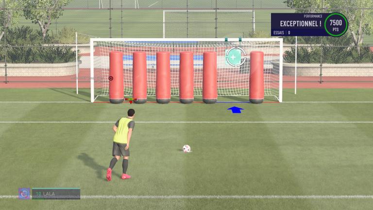 FIFA 21, jeux techniques : les coups de pied arrêtés, notre guide