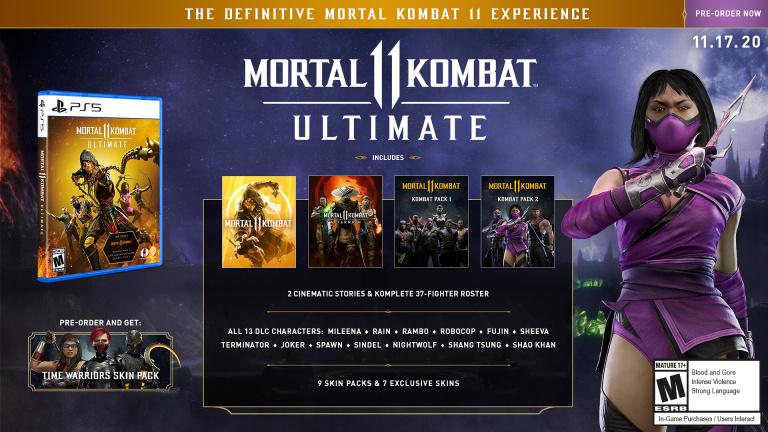 Mortal Kombat 11 Ultimate annoncé, Rambo et améliorations PS5 / Xbox Series au programme