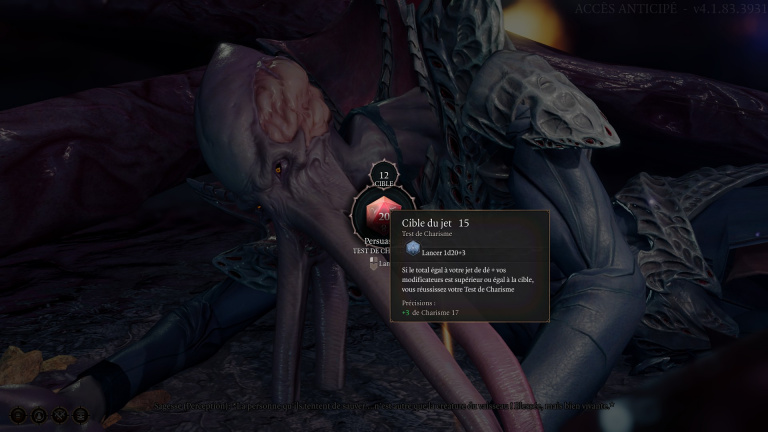 Baldur's Gate 3 : Dés de vie, modificateurs et compétences comment ça marche?