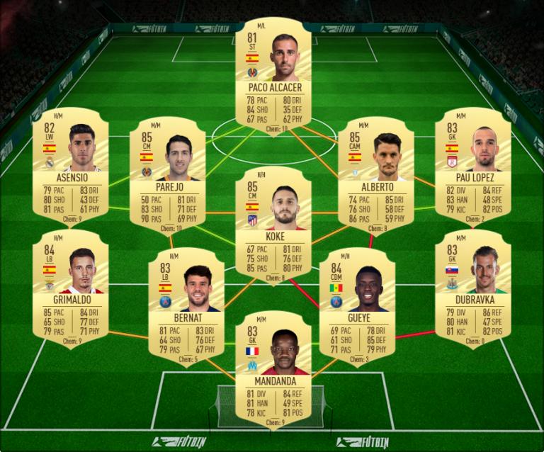 FIFA 21, DCE : Calvert-Lewin, joueur du mois Premier League, solution défi création d'équipe