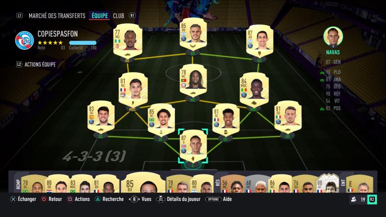 FIFA 21, les formations : les dispositifs offensifs, notre guide