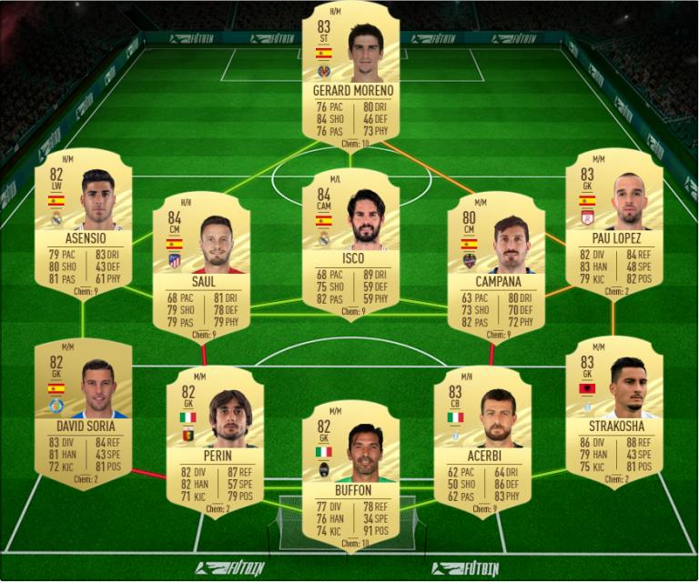 FIFA 21, DCE : Ansu Fati, joueur du mois LaLiga, solution du défi création d'équipe