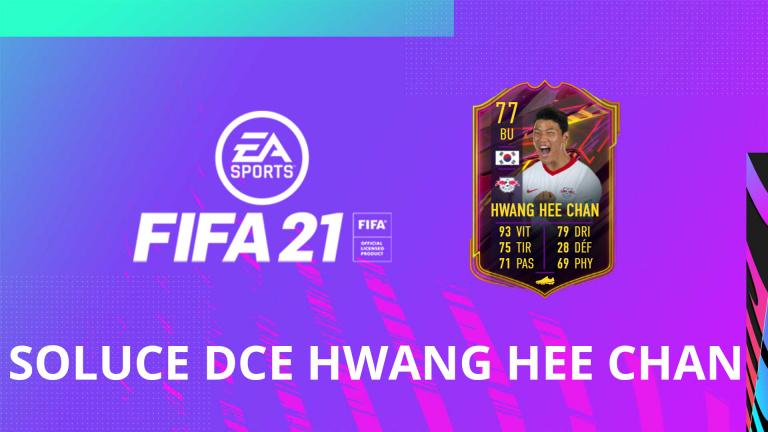 FIFA 21, DCE : OTW Hwang Hee Chan, solution du défi création d'équipe
