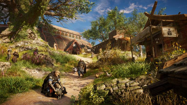 """Assassin's Creed Valhalla : """"Le choix du sexe d'Eivor est complètement logique"""" (Interview)"""