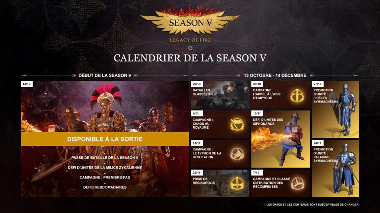 Conqueror's Blade lance Legacy of Fire, sa cinquième saison