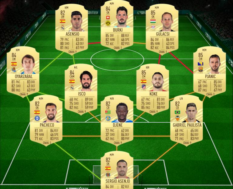 FIFA 21, DCE : flashback Axel Witsel, solution du défi création d'équipe