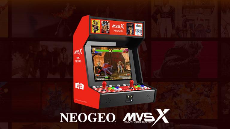 Neo Geo MVS-X : la borne d'arcade arrive en Europe avec 50 jeux préinstallés