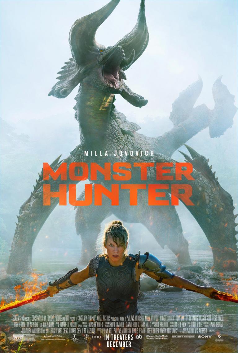 Monster Hunter Movie dévoile sa première bande-annonce explosive