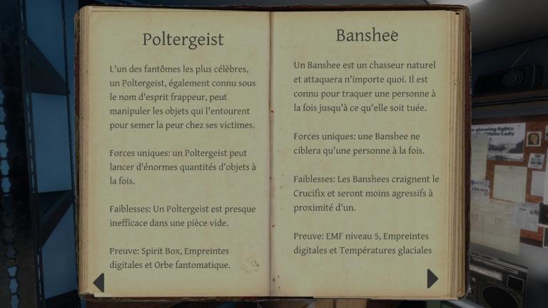 Les différents types de fantôme